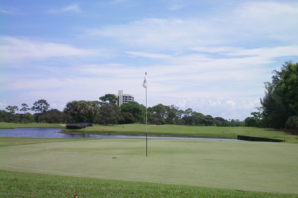 The Jonathan's Landing Village Course is just one of the three world class golf courses Jonathan's Landing has to offer.
