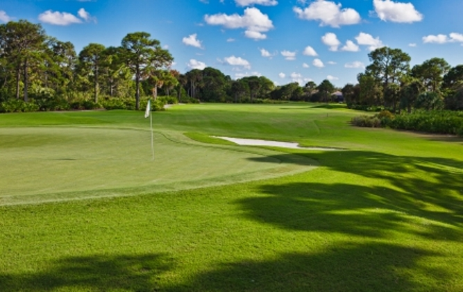 The Fazio at Old Trail is the most famous of Jonathan's Landing three world class golf courses