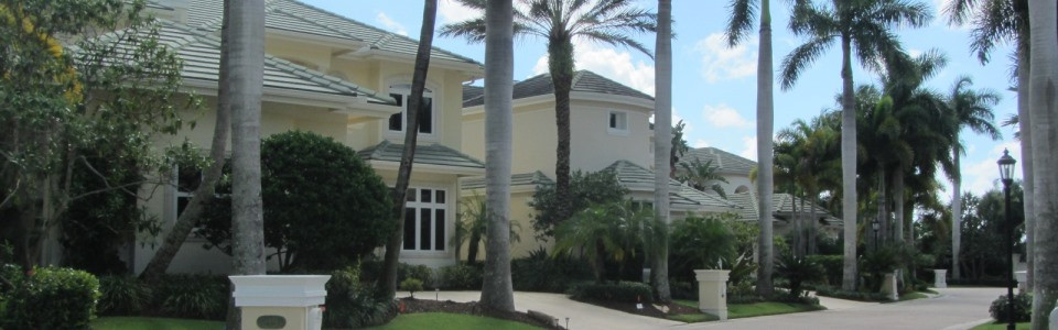 The Harbour is a water front community within the country club community of Jonathan's landing in Jupiter, FL