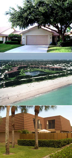 The Bluffs is a highly desirable community because of its close proximity to beautiful Jupiter Beach.