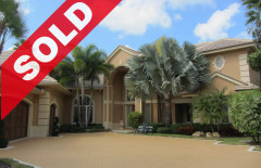 SOLD - Spectacular custom built Jonathan's Landing Casseeky Island estate home with surrounding waterways, astounding scenic views and direct Intracoastal access!