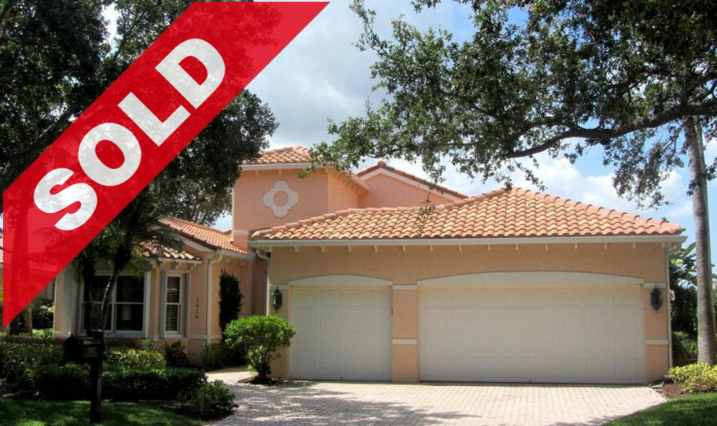SOLD - 3920 Outlook Court - Jonathan's Landing Home For Sale - Jupiter FL 33477