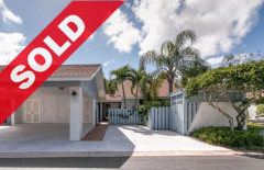 SOLD - Jonathan's Landing Golf Villa For Sale - 3742 Cape Pointe Circle Jupiter, Florida 33477