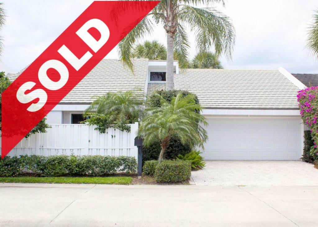 SOLD! Jonathan's Landing Townhouse for Sale - 17263 Bay Street Jupiter, Florida 33477