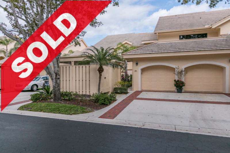 SOLD - Jonathan's Landing Condo for Sale - 3941 Back Bay Drive 128 Jupiter Florida 33477