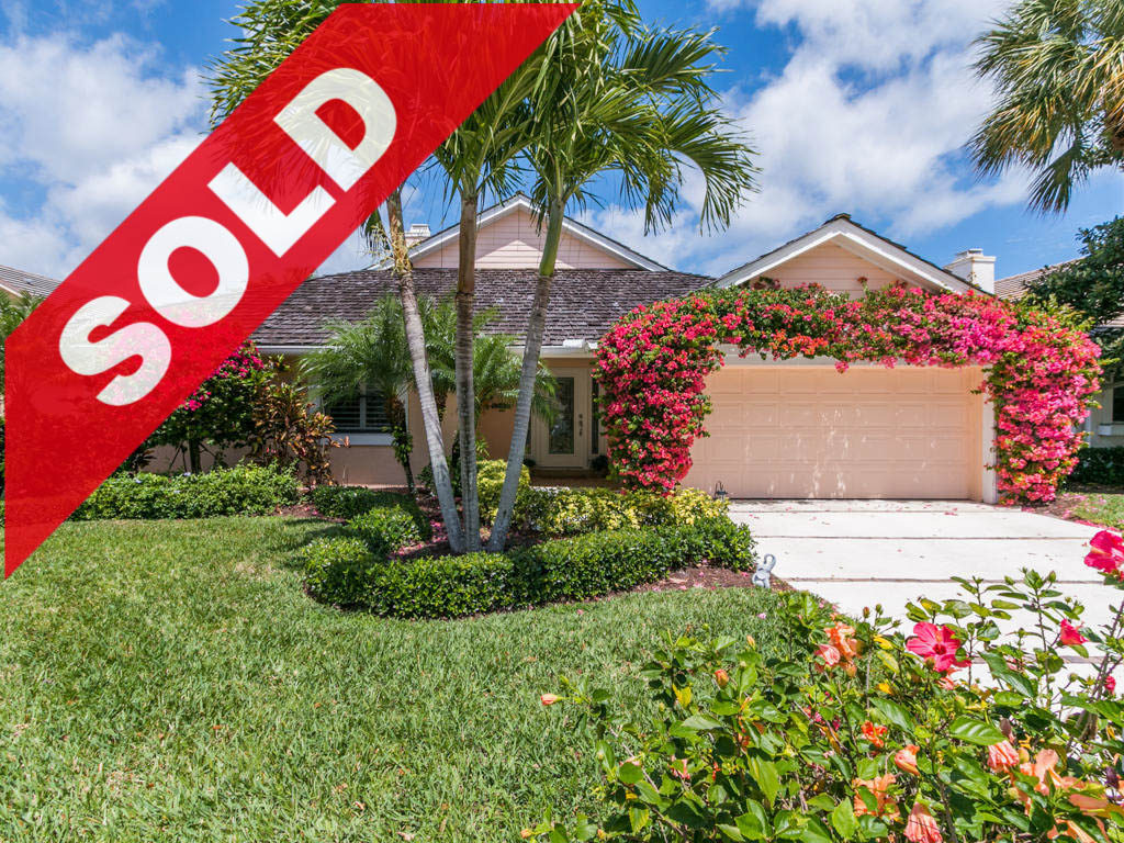 SOLD - Jonathan's Landing Jupiter Fl home for sale - 17036 Freshwind Circle