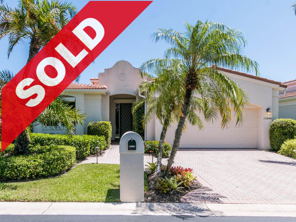 SOLD - Jonathan's Landing Home For Sale - 15880 Windrift Drive Jonathan's Landing - Jupiter, Florida