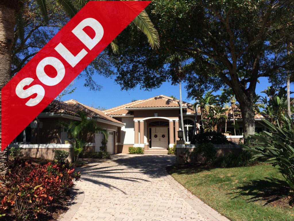 SOLD! Jonathan's Landing Intracoastal waterfront estate for sale - 3376 Barrow Island Road, Jupiter, FL 33477