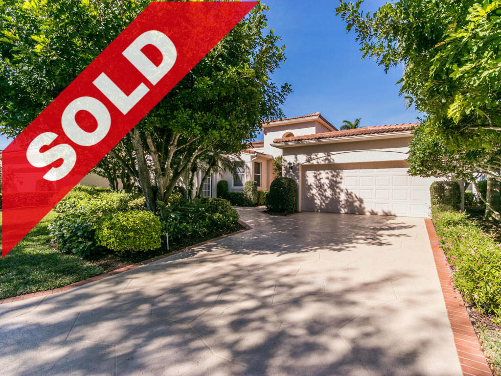 SOLD - Jonathan's Landing Windrift home for sale - 3641 Northwind Court Jupiter FL 33477