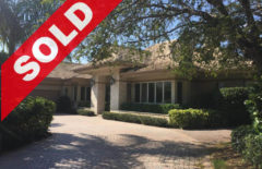 SOLD! Extraordinary 3 BR Waterfront Jonathan's Landing Estate Home For Sale - 191 South Bay Circle, Jupiter, FL 33477