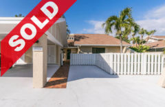 SOLD! Jonathan's Landing Golf Villa For Sale - 17225 Hilliard Terrace Jupiter, FL 33477