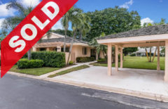 SOLD! Jonathan's Landing Golf Villa For Sale - 3672 Freshwater Drive Jupiter, FL 33477