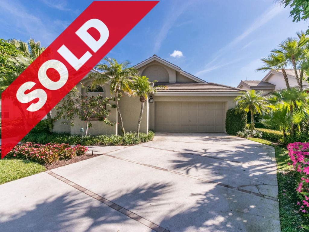 SOLD! Jonathan's Landing Lakefront Home For Sale - 16470 Riverwind Drive, Jupiter, FL 33477