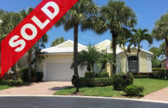 SOLD! Jonathan's Landing Lakefront Home For Sale - 17256 Shoals Drive Jupiter FL 33477