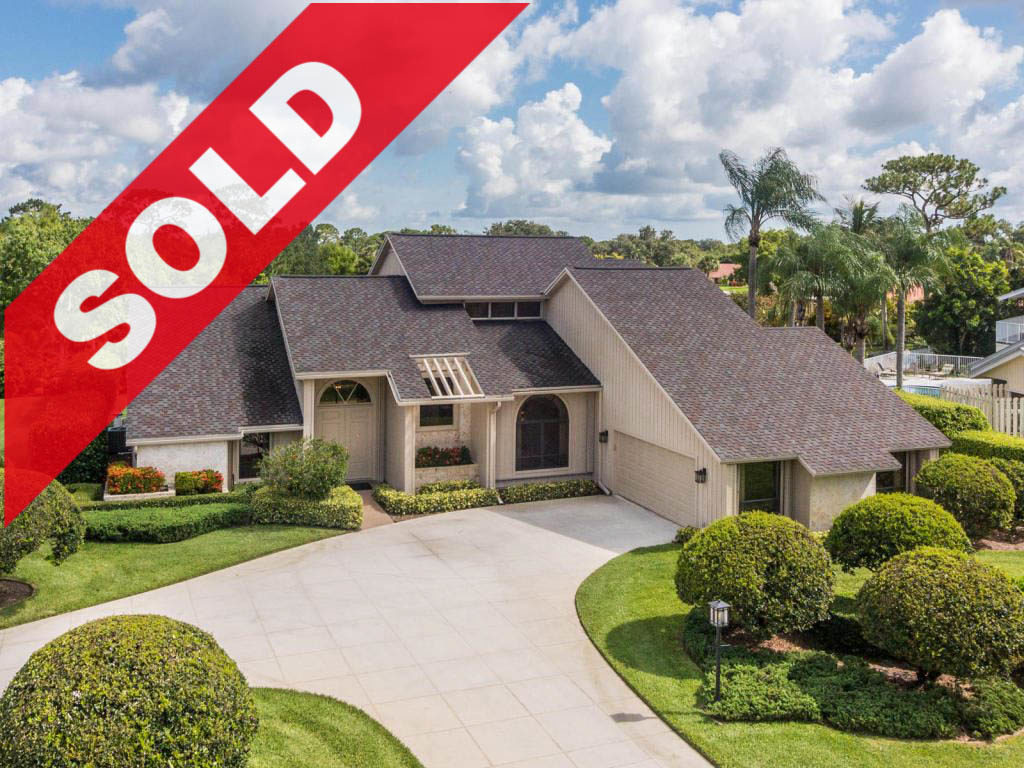 SOLD! Whispering Trails Jupiter Home For Sale - 6191 Wood Lake Road, Jupiter, FL 33458