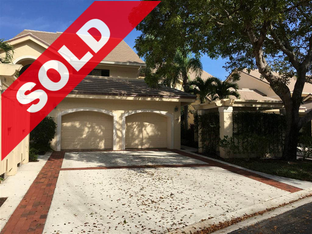 SOLD! Jonathan's Landing 3 Bedroom West Bay Condo For Sale - 3911 Schooner Pointe Drive #105, Jupiter, FL 33477