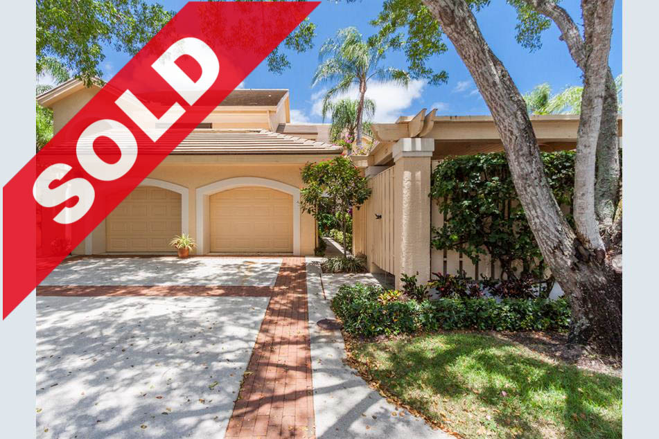 SOLD! Jonathan's Landing West Bay Condo For Sale - 3911 Back Bay Drive #121, Jupiter, FL 33477