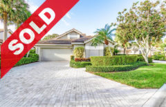 SOLD! Jonathan's Landing Shearwater Home For Sale - 3860 Shearwater Drive, Jupiter, FL 33477