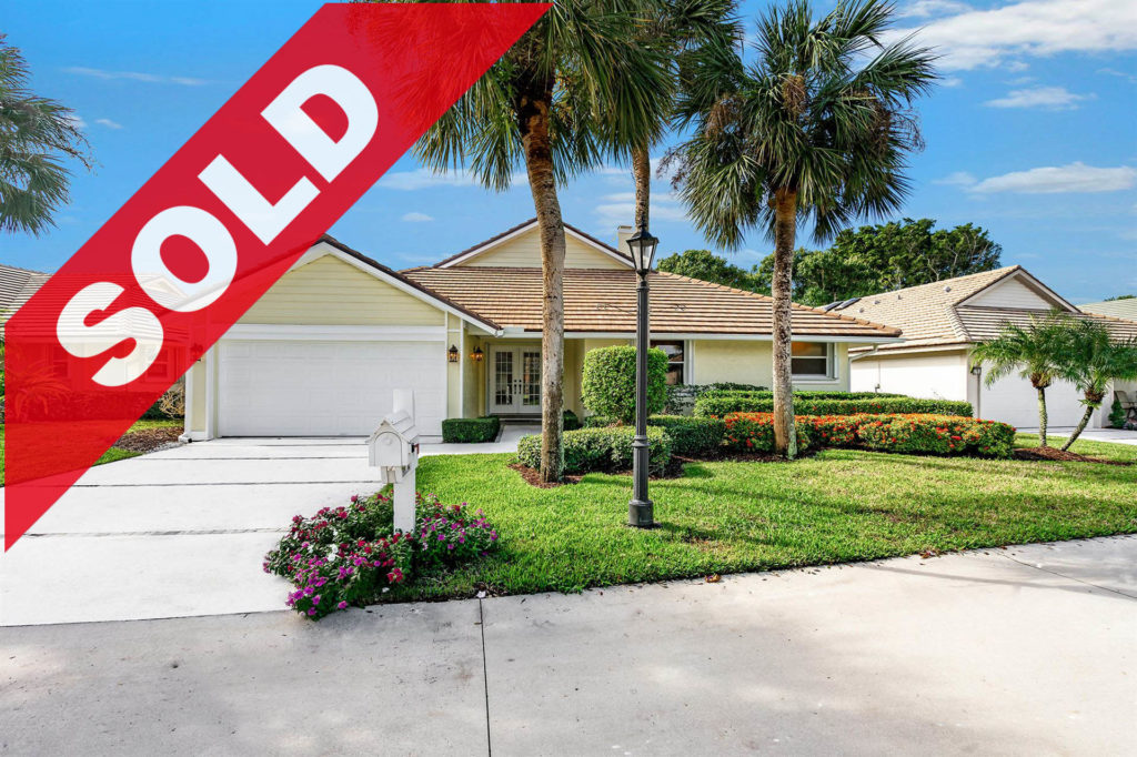 SOLD! 17004 Freshwind Circle, Jupiter, FL 33477