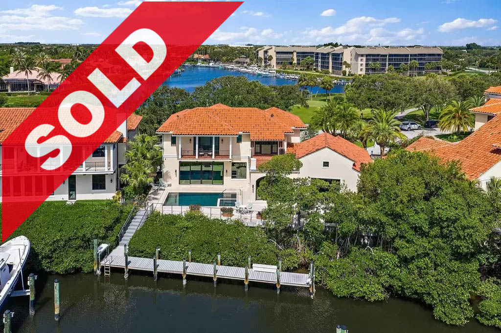 SOLD! Jonathan's Landing Passage Island Waterfront Home For Sale - 16872 Passage South Jupiter, FL 33477